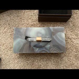 Kendra Scott Tan Agate Rectangle Box